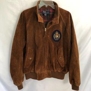 Polo Ralph Lauren Suede Leather Jacket Harrington